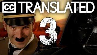 [TRANSLATED] Vader vs Hitler 3. Epic Rap Battles of History. [CC]