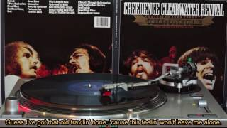 Creedence Clearwater Revival VINYL Long As I Can See The Light HD + lyrics