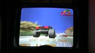 SEGA Daytona USA Turbo Edition Arcade Intro Original Arcade Machine (Not MAME)