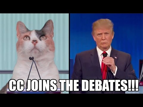 CC Joins The Republican Debates!