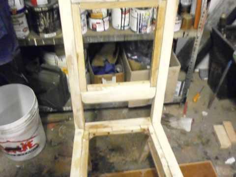 Costruire Una Sedia A Sdraio.Come Costruire Una Sedia Da Un Unico Pannello Di Legno Fai Da Te Mania