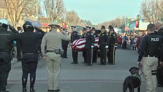 Newman community says final goodbye to slain officer Ronil Singh