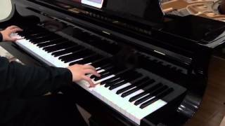 Guilty Crown Soundtrack Bios (live at my school) Animenz Ver. [piano]