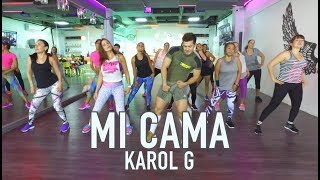 Mi Cama - Karol G by Cesar James Zumba Cardio Extremo Cancun