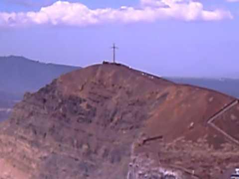 Cruz del volcán Masaya,Nicaragua