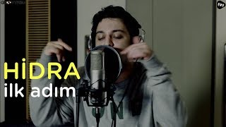"""HİDRA """"İlk Adım"""" // Groovypedia """"fizy rap sessions"""" #hidra"""