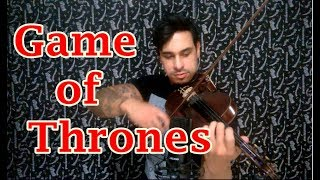 Game of Thrones (Theme) by Douglas Mendes (Violin Cover)