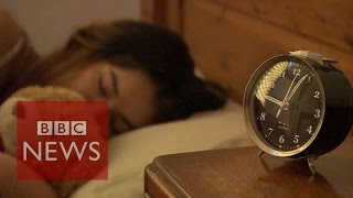 School for tired teens - BBC News width=