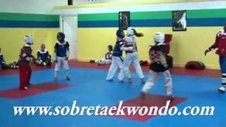 Entrenamiento Táctico de Taekwondo con Gabriel Mercedes