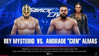 WWE 2K19: Rey Mysterio Vs. Andrade