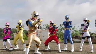 Power Ranger Ninja Steel   Se revela la identidad del Ranger Oro - Capitulo 8: Fiebre del Oro