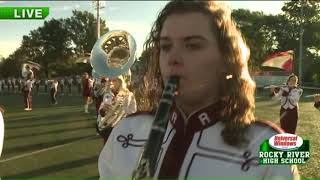 Rocky River H.S. Marching Band shines on Fox 8 Morning Show