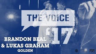 Brandon Beal & Lukas Graham - Golden (live) | The Voice '17