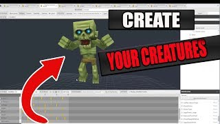 CREATE YOUR OWN CREATURES AND WEAPONS IN HYTALE !!! | HYTALE MODEL MAKER |