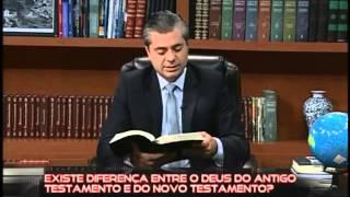 Existe diferença entre o Deus do Antigo Testamento e o Deus do Novo Testamento?