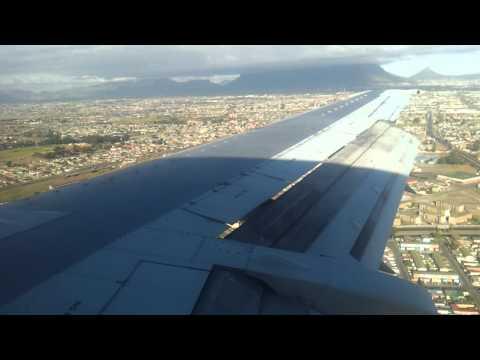 Flight British Airways BA660 Durban Cape Town