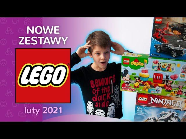 Nowości 2021: LEGO NINJAGO 71738 STARCIE TYTANÓW MECH, LEGO Spider-Man 76173, LEGO DUPLO 10941