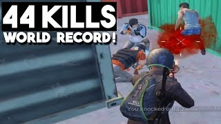 NEW WORLD RECORD!!! | 44 KILLS Duo vs Squad | PUBG Mobile