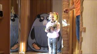 Детский канал. Живая муха цокотуха. Муха и кот. Развлекательное видео для детей
