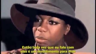 Nina Simone falando da importancia de sua negritude