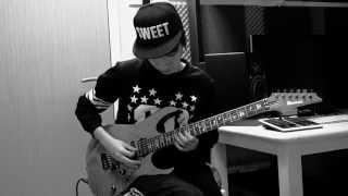4MINUTE - 미쳐(Crazy) Electric Guitar Cover