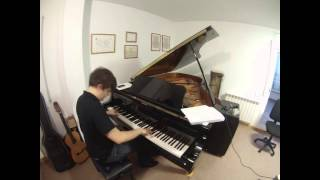 Blues / jazz improvisation - piano solo