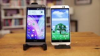 HTC One M9 vs. HTC One M8: ¿cuáles son las diferencias?