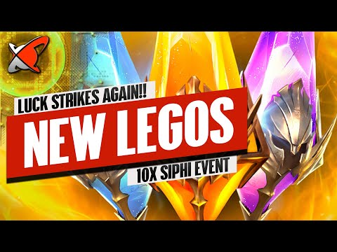 LUCK STRIKES AGAIN... ANOTHER NEW LEGO!! | 10X Siphi Event | RAID: Shadow Legends