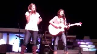 Fight like a Girl-Bomshel cover by Hayley Stayner and Brianna parish