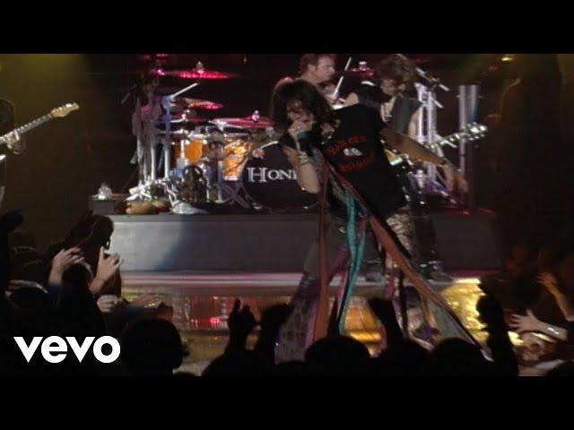 "Video oficial de ""Walk this way"" de Aerosmith"