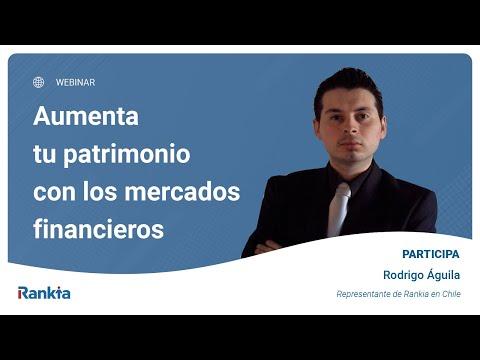 Rodrigo Águila representante de Rankia en Chile, explica los conceptos básicos para empezar a gestionar tu patrimonio y poder aumentarlo a través de la inversión.