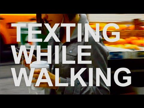 Texting While Walking by Casey Neistat - Kids and Science