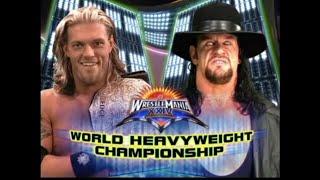 Edge vs The Undertaker Wrestlemania 24 [HD] Highlights width=