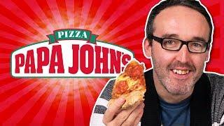 Irish People Try Papa John's Pizza