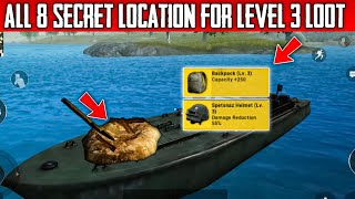 All secret level 3 loot location | no one know this