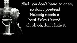 James Bay - Best Fake Smile - Lyrics
