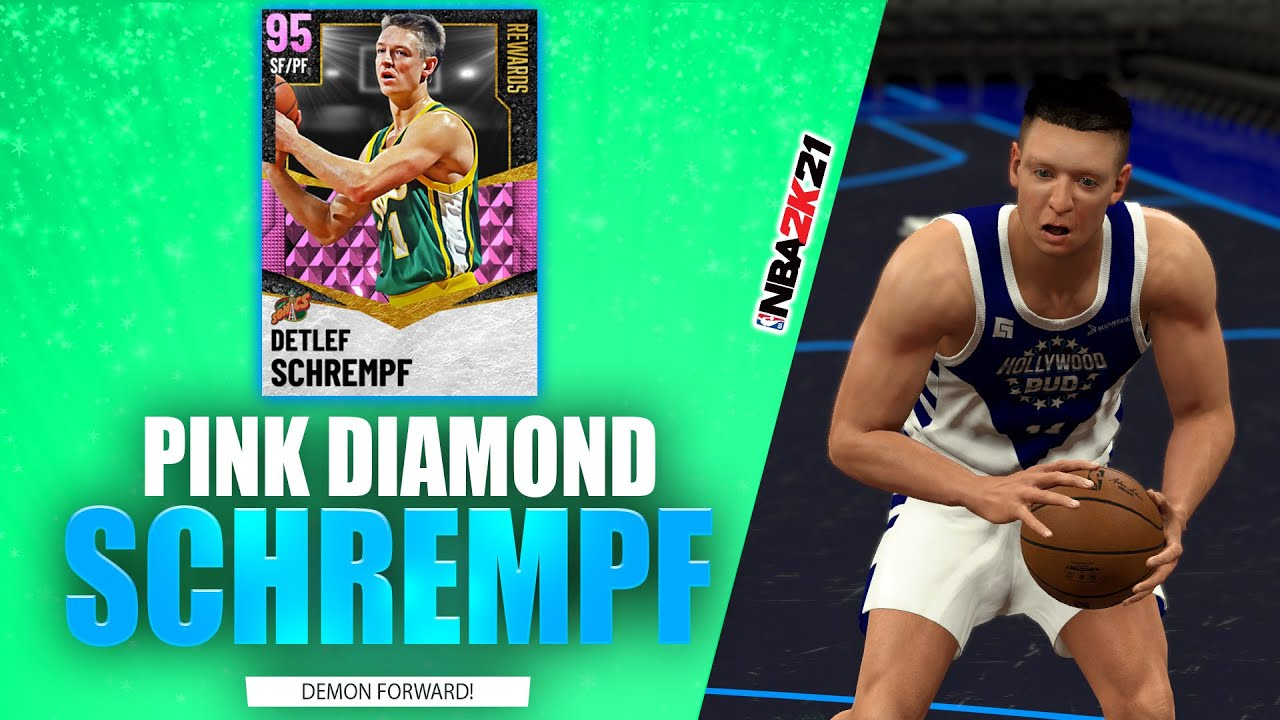 Bud22089 - Pink Diamond Detlef Schrempf Debut - Game of the Year - NBA 2K21 MyTeam FGF