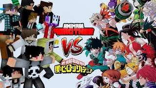 OP Animasi 4brother Eps.5, 6 X OP Boku No Hero X Minecraft Version