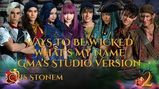 Descendants 2 Cast - Ways To Be Wicked/What's My Name (GMA's Studio Version)