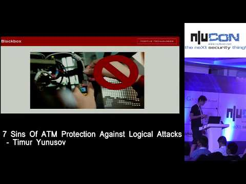 7 Sins Of ATM Protection Against Logical Attacks by Timur Yunusov