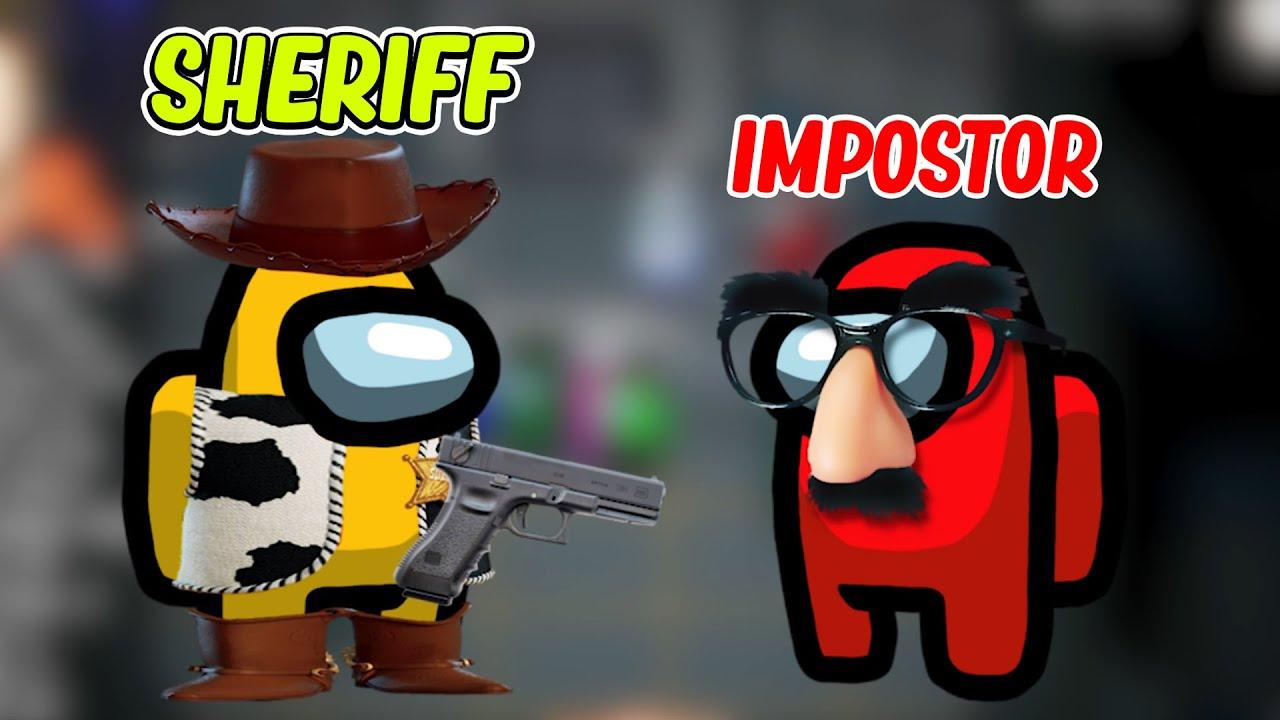 Jacksepticeye - Amazing New SHERIFF MOD in Among Us