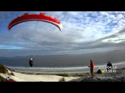 Paragliding fun Western Cape South Africa