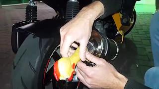 Chicken silencer on Aprilia Leonardo 180 [FAIL]