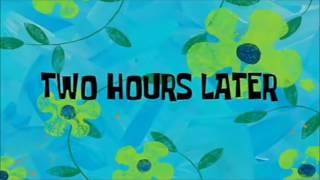 Spongebob two hour later scene