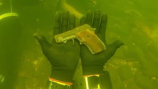 Found Gun Underwater in the River While Scuba Diving! (Police Called)