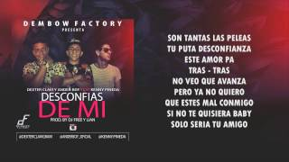 Desconfias De Mi - Dexter  Y Ander Boy Ff Kenny Pineda (Vídeo Lyric)  🔊🎶