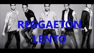 """CNCO """"Reggetón lento"""" letra+english"""