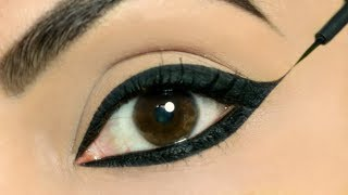 Use These TRICKS To Apply Perfect Wing Eyeliners on BOTH Eyes | Shruti Arjun Anand