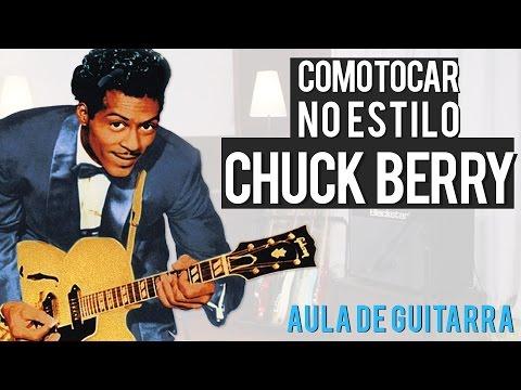 CHUCK BERRY - ESTILO DE GUITARRA