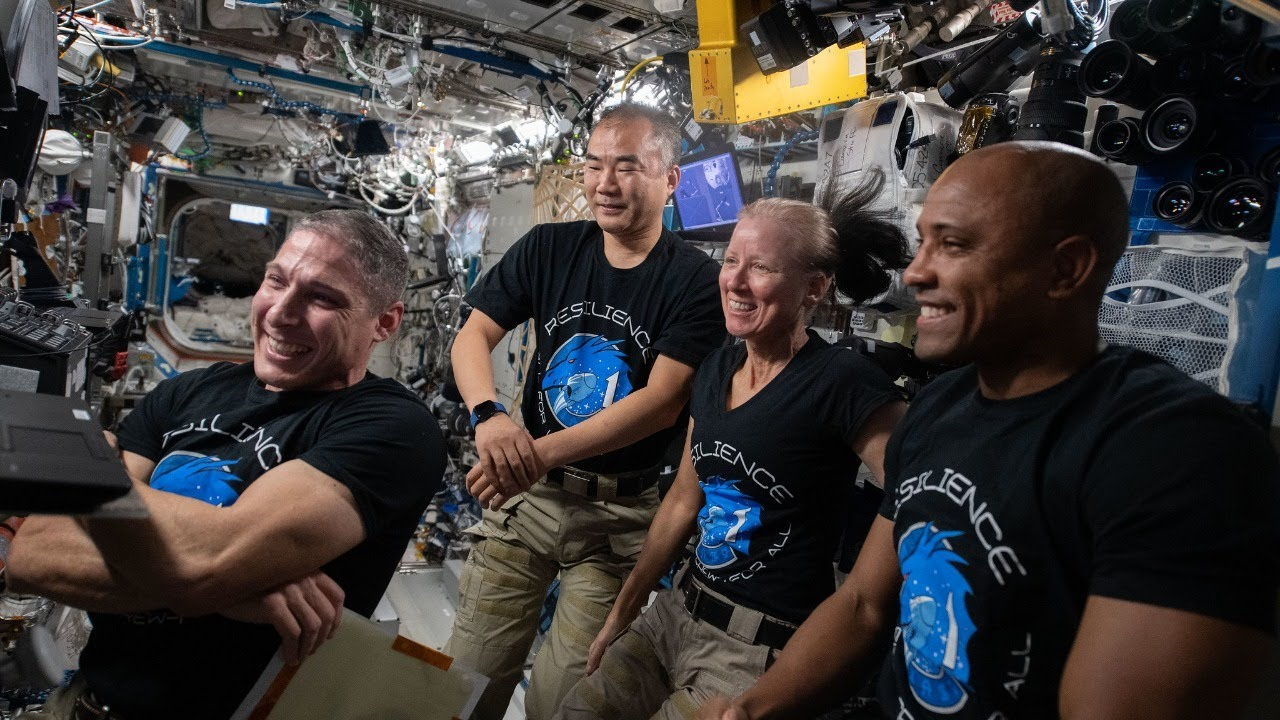Q&A with NASA's SpaceX Crew-1 Astronauts Aboard the Space Station